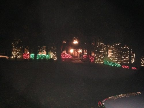 New Castle County xmas lights